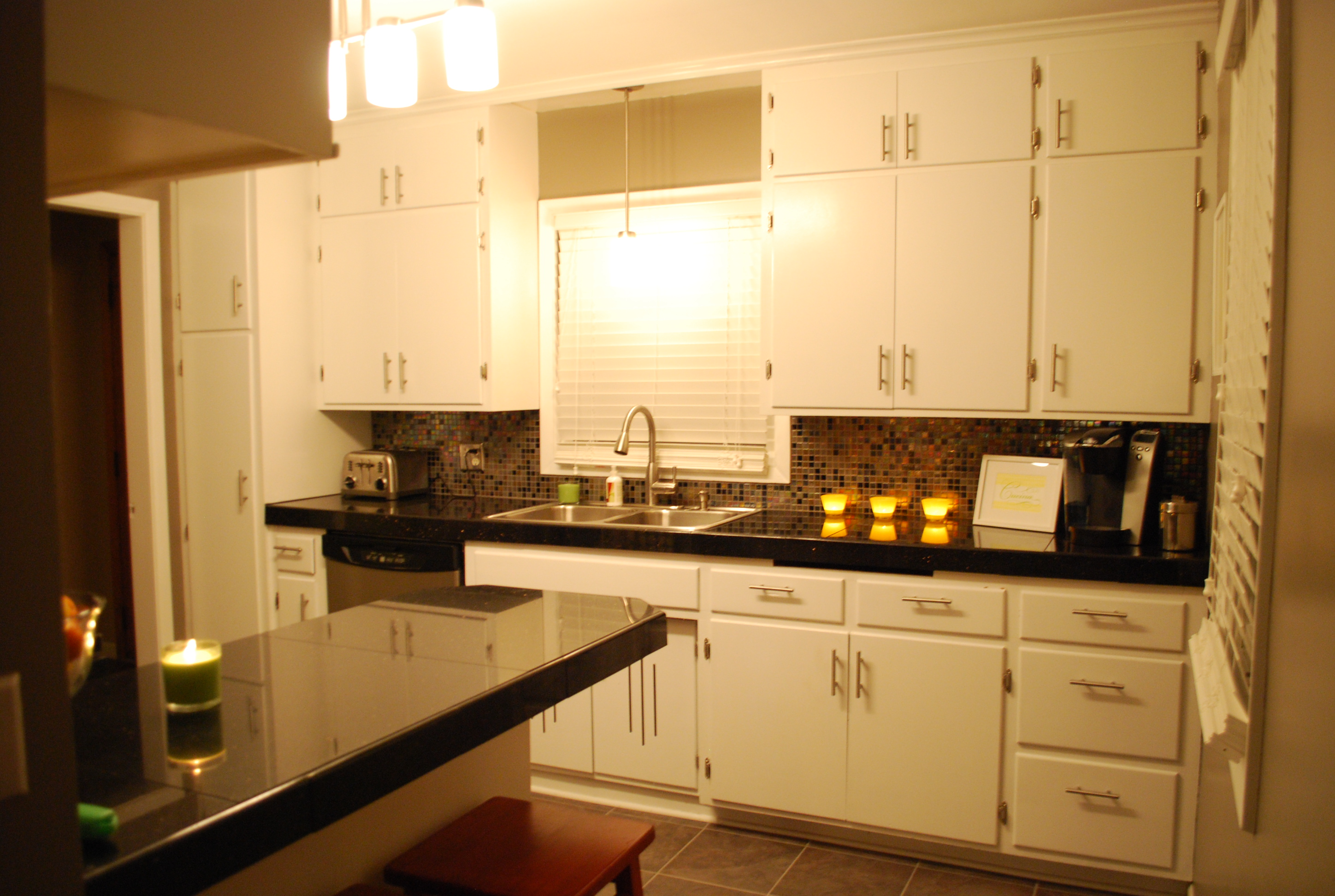 Fancy kitchen on a budget part ii Kitchen backsplash ideas pictures 2010
