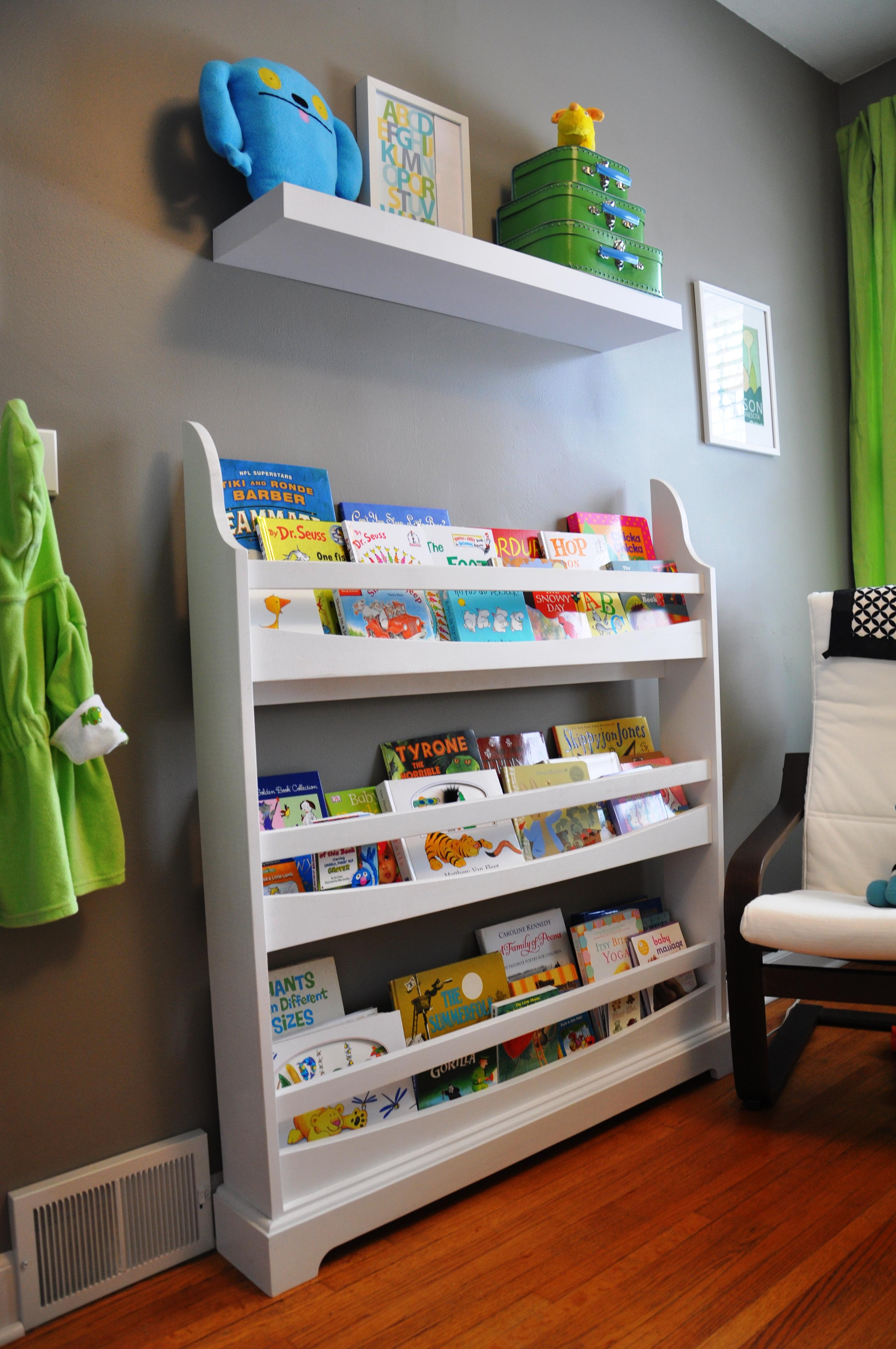our modern nursery. Black Bedroom Furniture Sets. Home Design Ideas