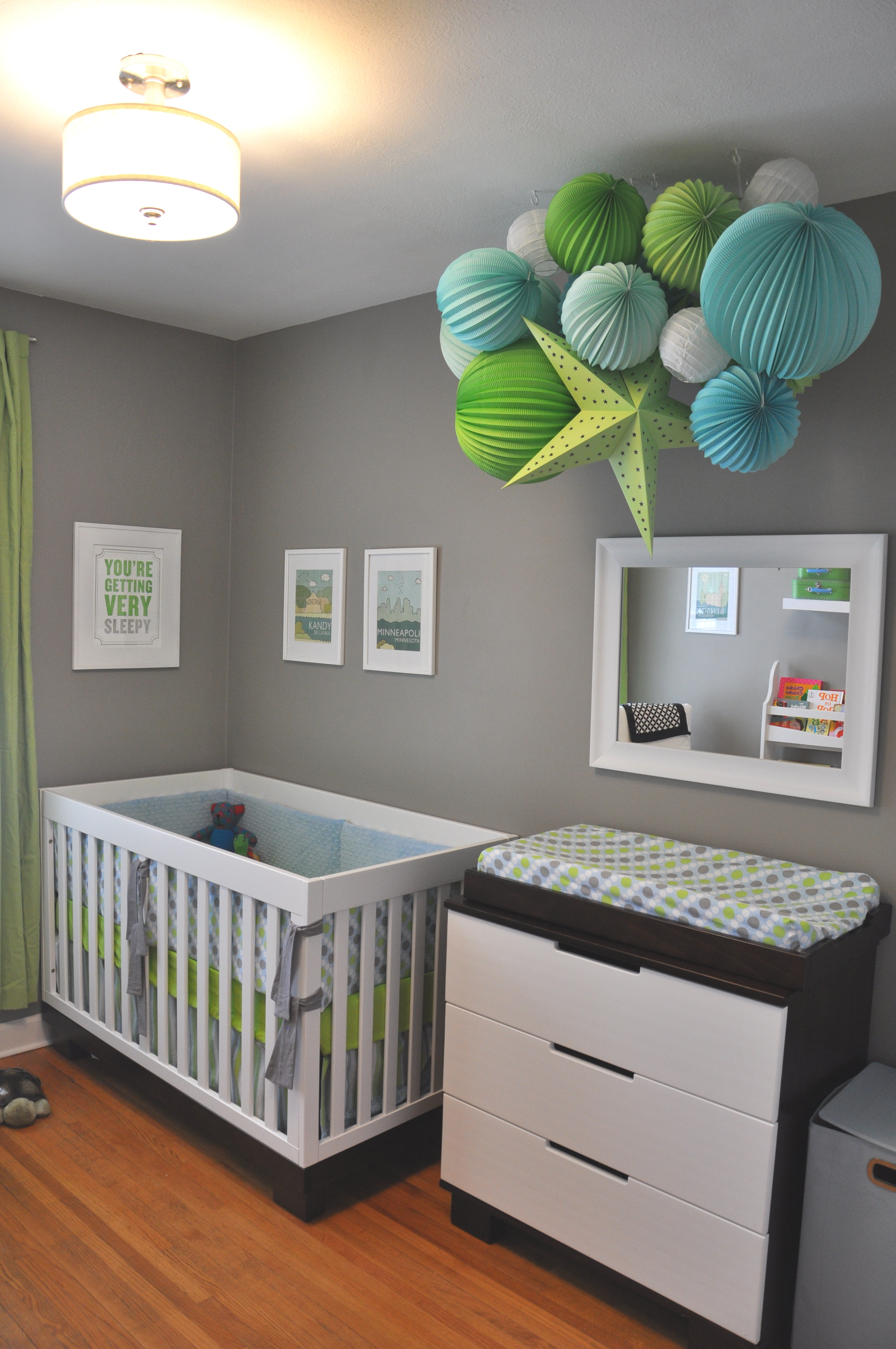 our modern nursery