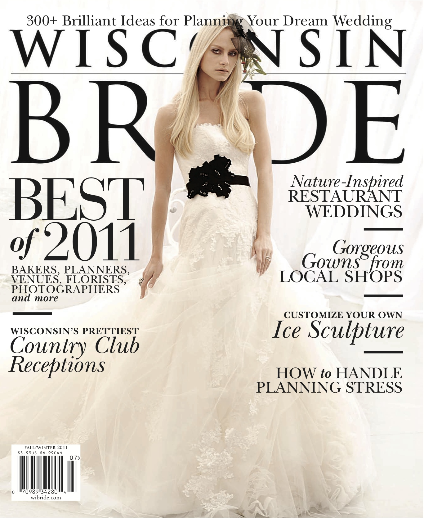 Published: Wisconsin Bride Magazine
